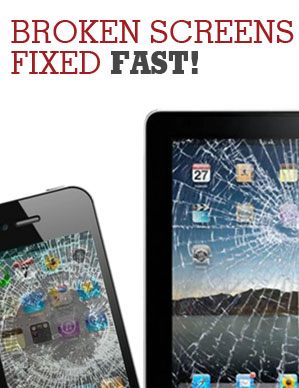 broken tablet and smart phone screen repair